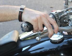 Posición de la mano derecha