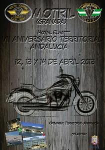 Cartel VII Aniversario Territorial VOCS Andalucía