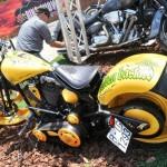 Motocicleta del Biker Show