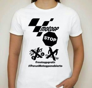Camiseta del evento