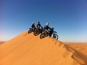Por Marruecos en moto