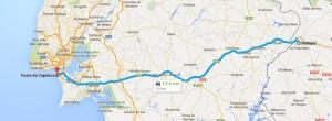Ruta Badajoz - Costa da Caparica