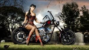 Chica moto 4