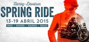 Harley Davidson Spring Ride