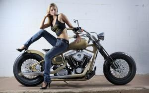 Chica moto 7