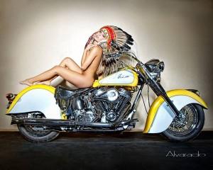Chica moto 18