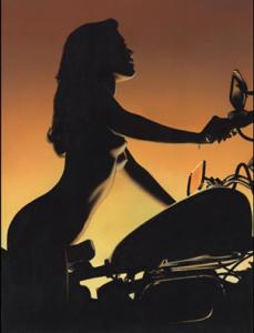 Chica moto 25